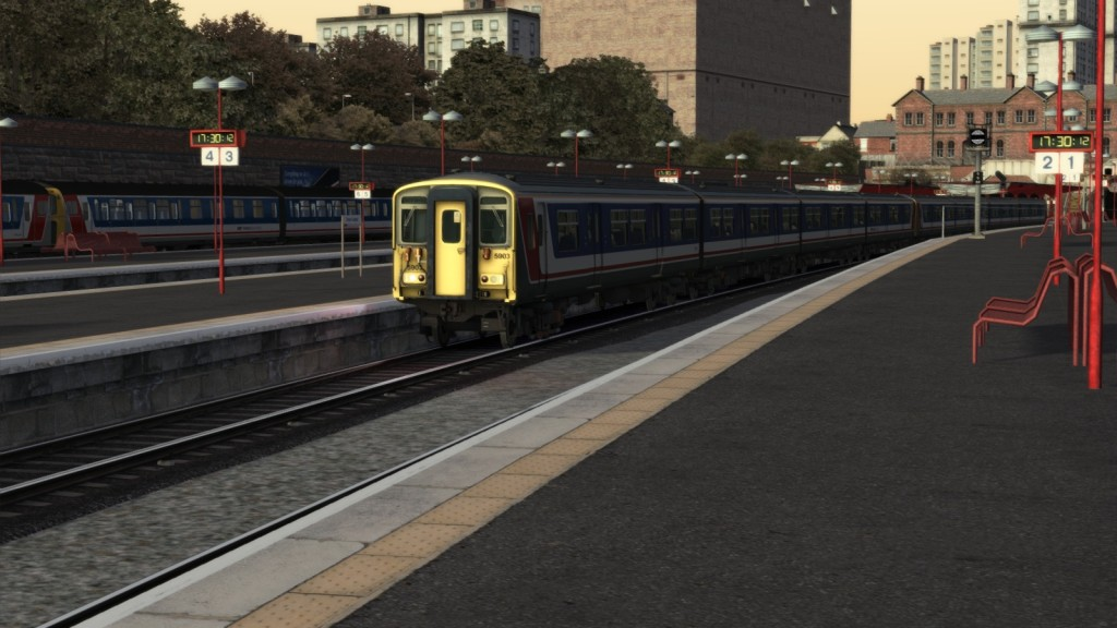 NSE Trains at Dover Central