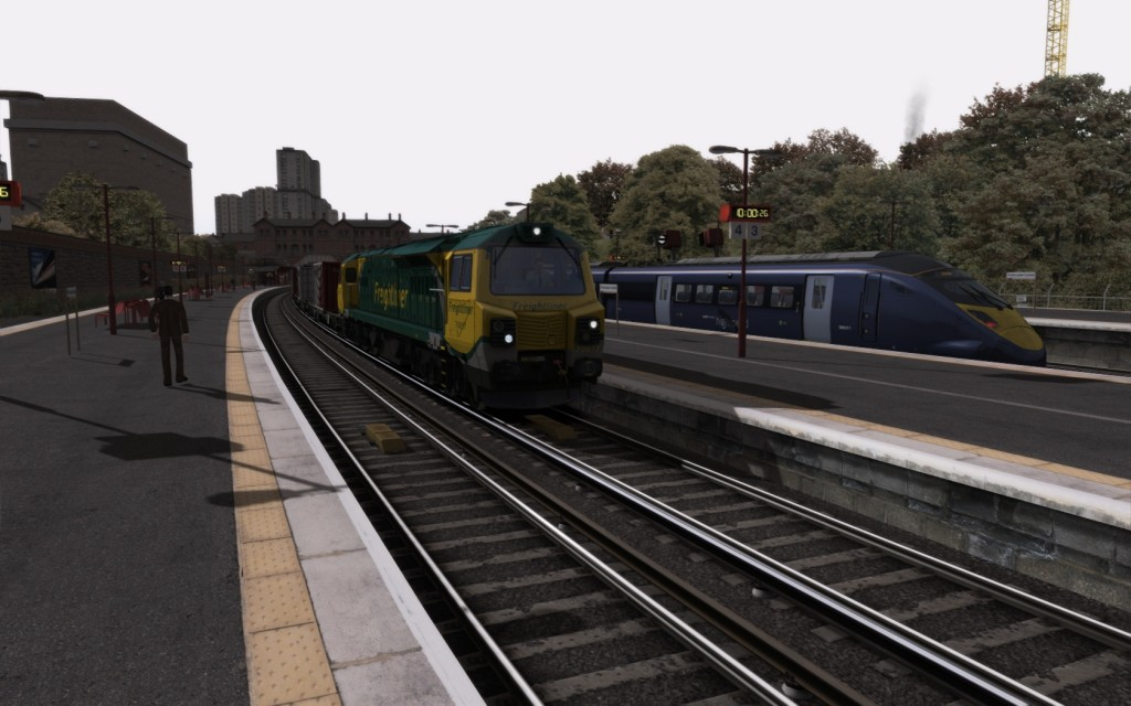 Class 70 at Porthcaster Central